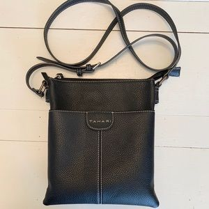 Tahari Black Crossbody Purse